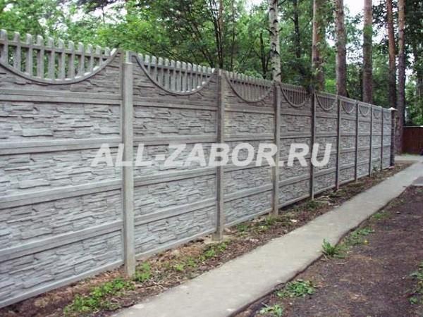 Забор из бетона купить в туле бетон воткинск купить