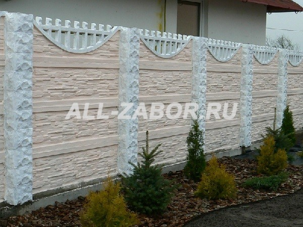 Забор из бетона купить в туле виды строительных растворов и их назначение